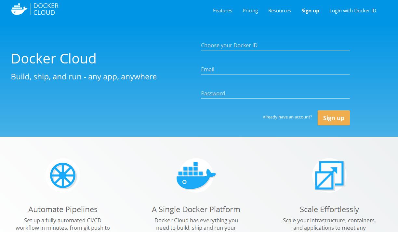 Docker Cloud